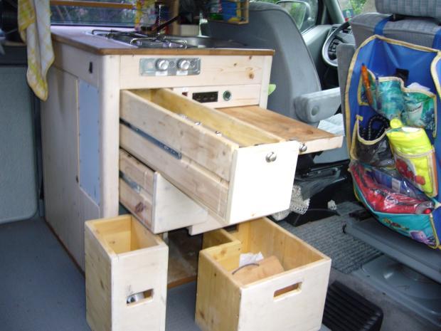 Camping küchenblock selber bauen  Bauanleitung - Küchenblock für Campingbus selber bauen - Forum ...