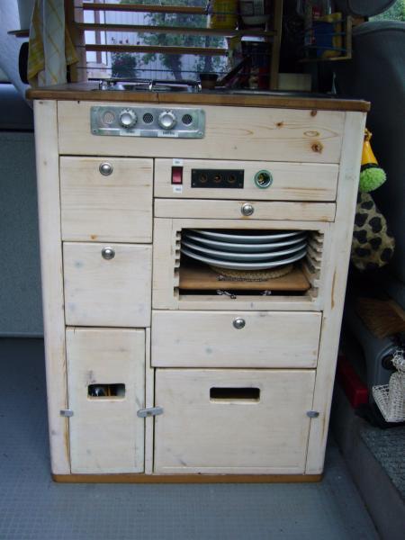 Küchenblock selber bauen  Bauanleitung - Küchenblock für Campingbus selber bauen - Forum ...