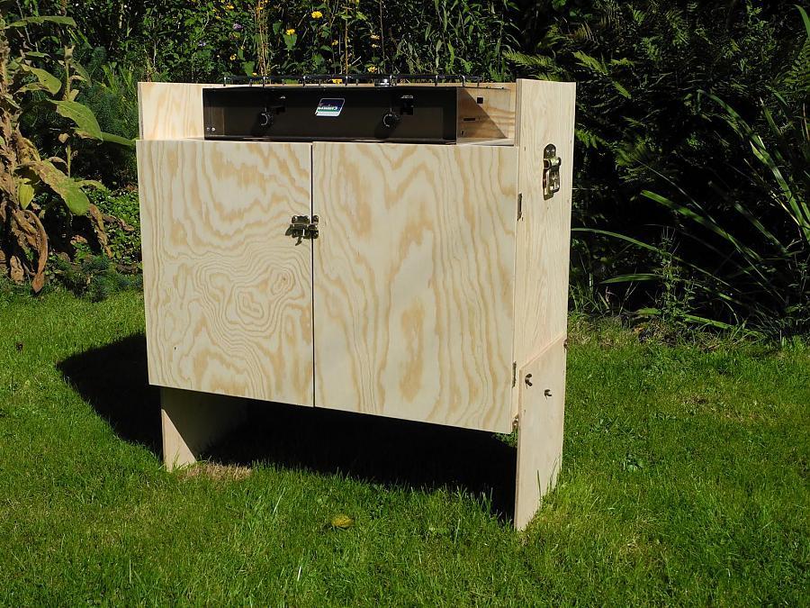 Outdoor Küche Camping : Campingküche selbstbau kochkiste selber bauen bilder galerie